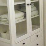 Salle de bain style spa bidouilles ikea for Vitrine salle de bain