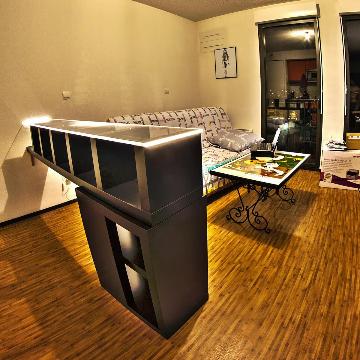 bar design lumineux bidouilles ikea. Black Bedroom Furniture Sets. Home Design Ideas