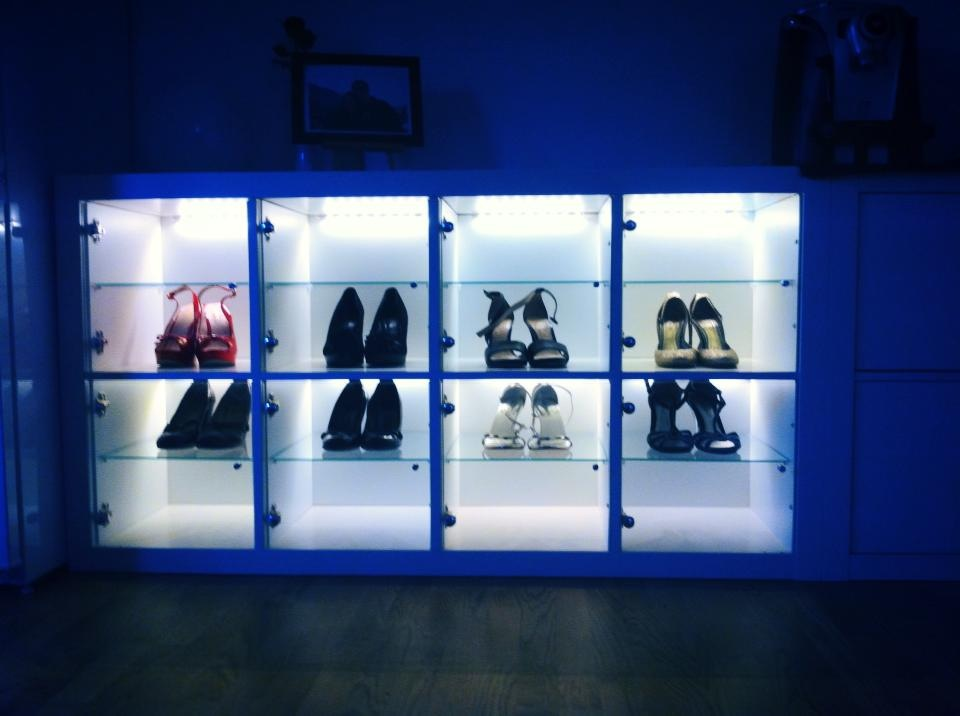 Tag re chaussures pour les enfants avec lill ngen - Casier chaussures ikea ...