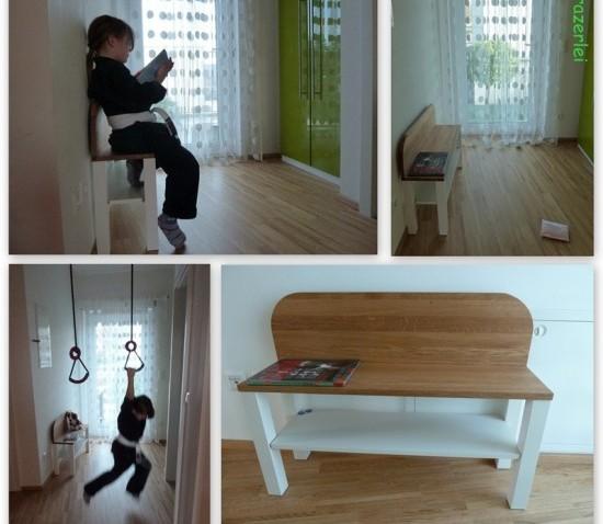 Petit banc pour enfants bidouilles ikea - Petit banc pour entree ...