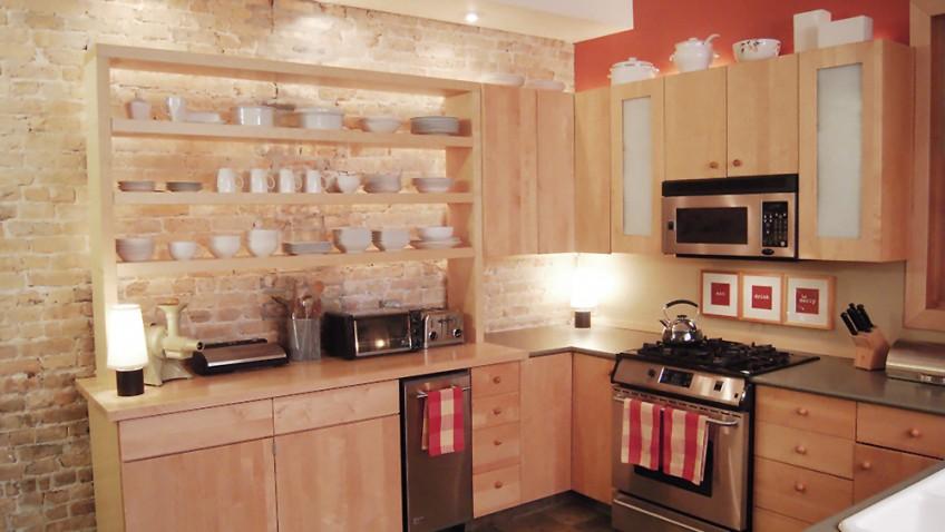 Des tag res ouvertes dans la cuisine bidouilles ikea for Etageres lumineuses cuisine