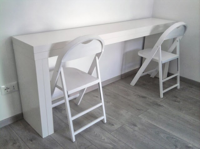 Console transformable en table bidouilles ikea - Table de salon transformable ikea ...
