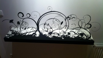 bar de s paration avec rangement bidouilles ikea. Black Bedroom Furniture Sets. Home Design Ideas