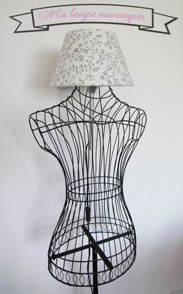 une lampe diy dans un buste de mannequin bidouilles ikea. Black Bedroom Furniture Sets. Home Design Ideas