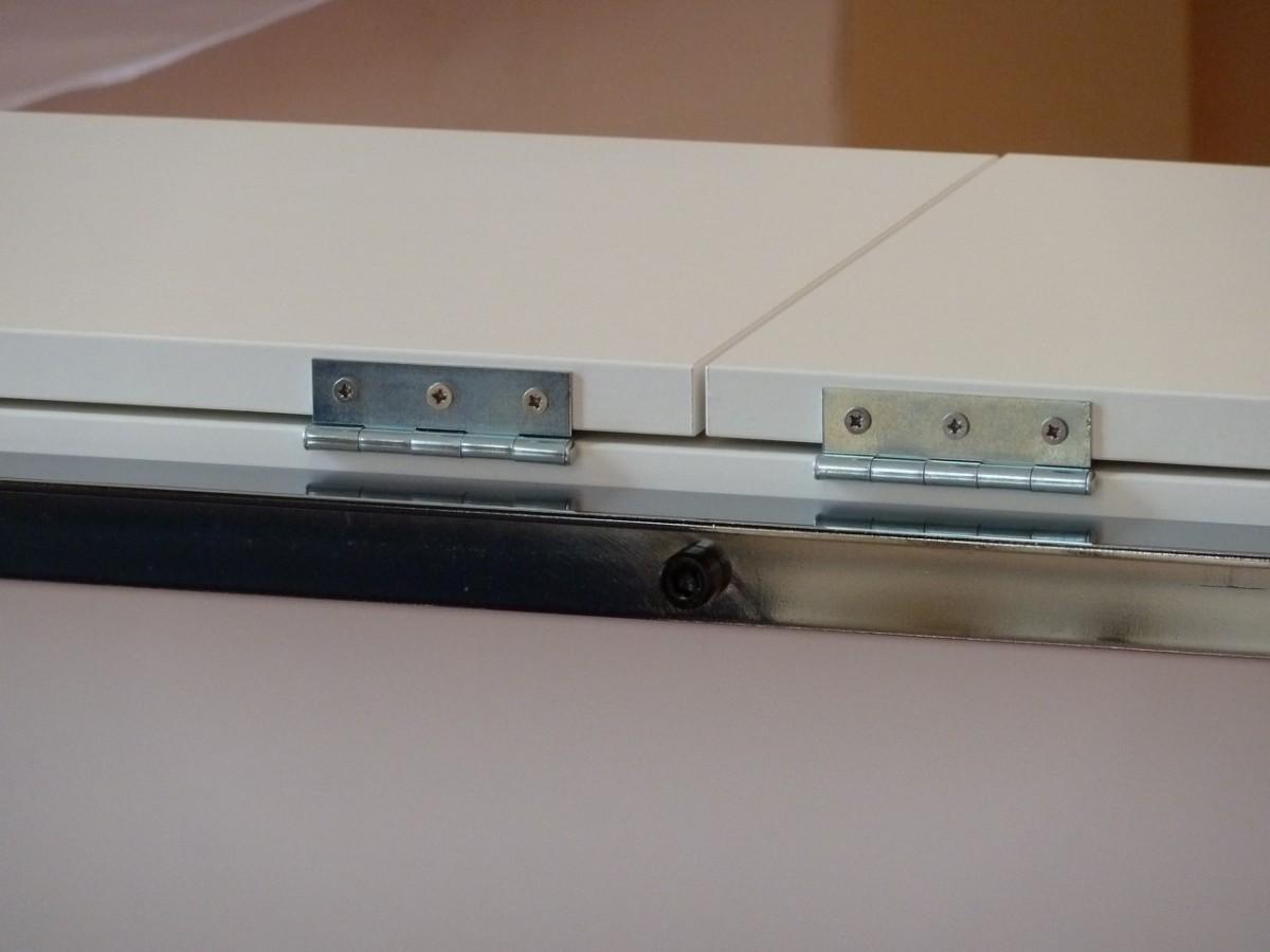 Meuble tv pur et design diy bidouilles ikea - Fermer un meuble ouvert ...