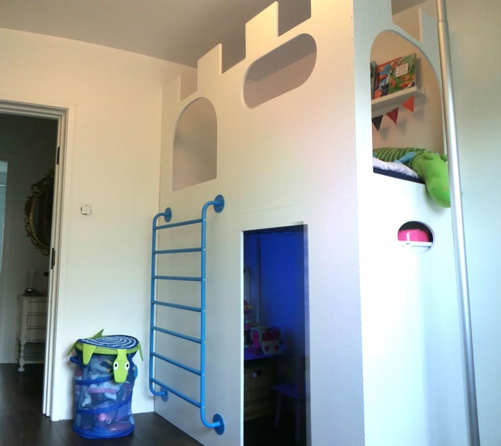 Un ch teau cabane lit mezzanine avec sniglar bidouilles ikea - Ikea cree sa chambre ...