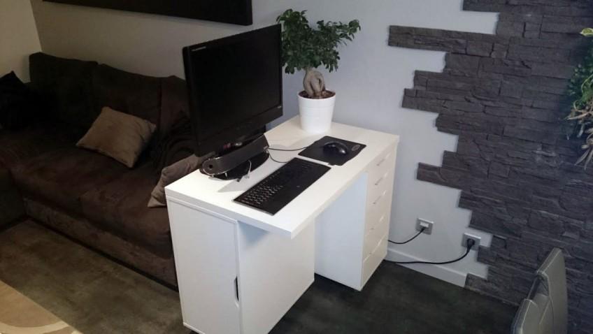 mini bureau ikea alex linmon bidouilles ikea. Black Bedroom Furniture Sets. Home Design Ideas