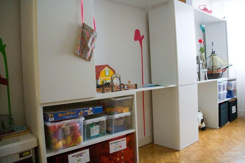 espace de jeu pour chambre d 39 enfant diy bidouilles ikea. Black Bedroom Furniture Sets. Home Design Ideas