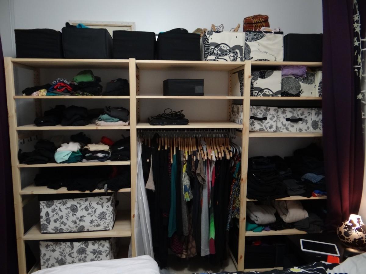 solution porte foulards charpes bidouilles ikea. Black Bedroom Furniture Sets. Home Design Ideas
