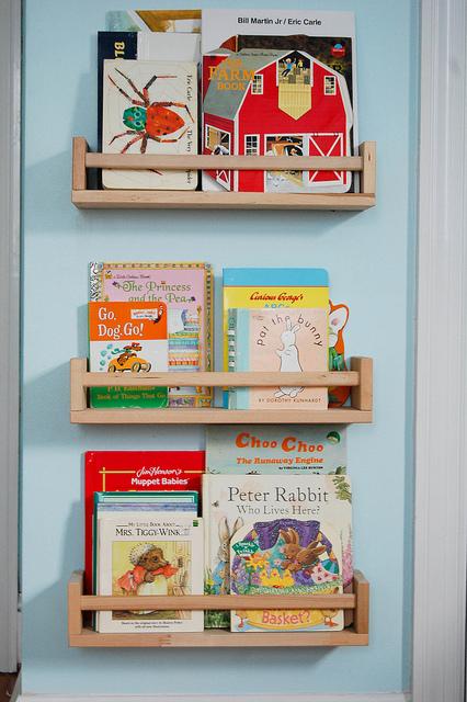 étagères à épices livres pour enfants