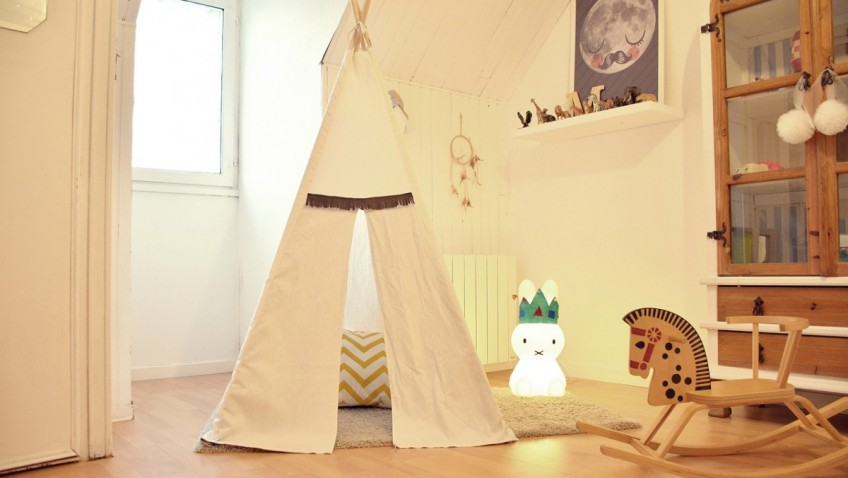 fabriquer un tipi pour enfant bidouilles ikea. Black Bedroom Furniture Sets. Home Design Ideas