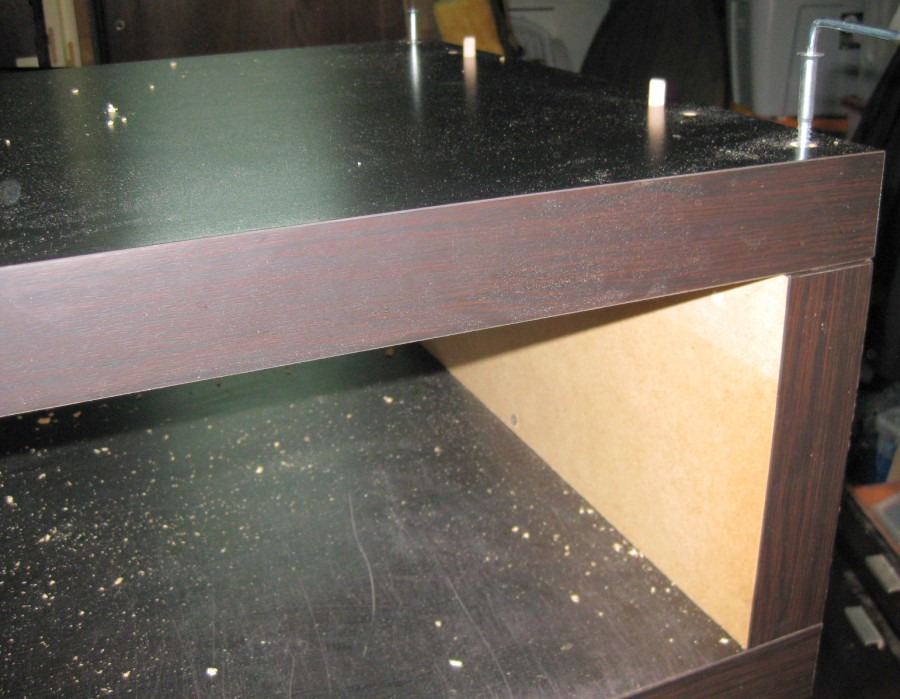 Hack d 39 un banc tv ikea lack bidouilles ikea for Assemblage meuble ikea