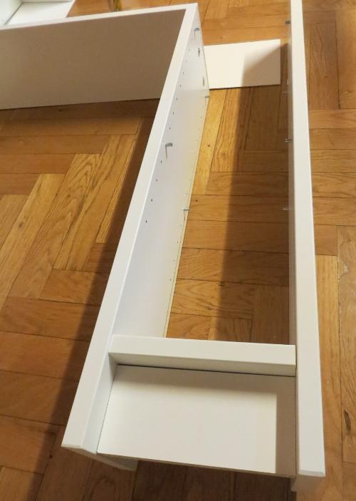 Gnedby rangement sous les escaliers bidouilles ikea for Escalier de rangement ikea