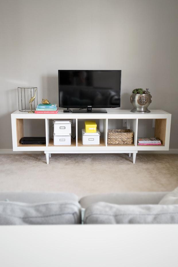 Tag res pour meuble tv bidouilles ikea for Meuble ikea kallax
