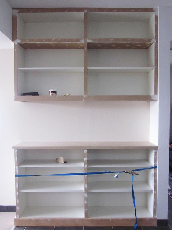biblioth que int gr e avec le hack d 39 une billy bidouilles ikea. Black Bedroom Furniture Sets. Home Design Ideas