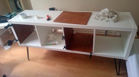 un buffet kallax ann es 50 70 bidouilles ikea. Black Bedroom Furniture Sets. Home Design Ideas