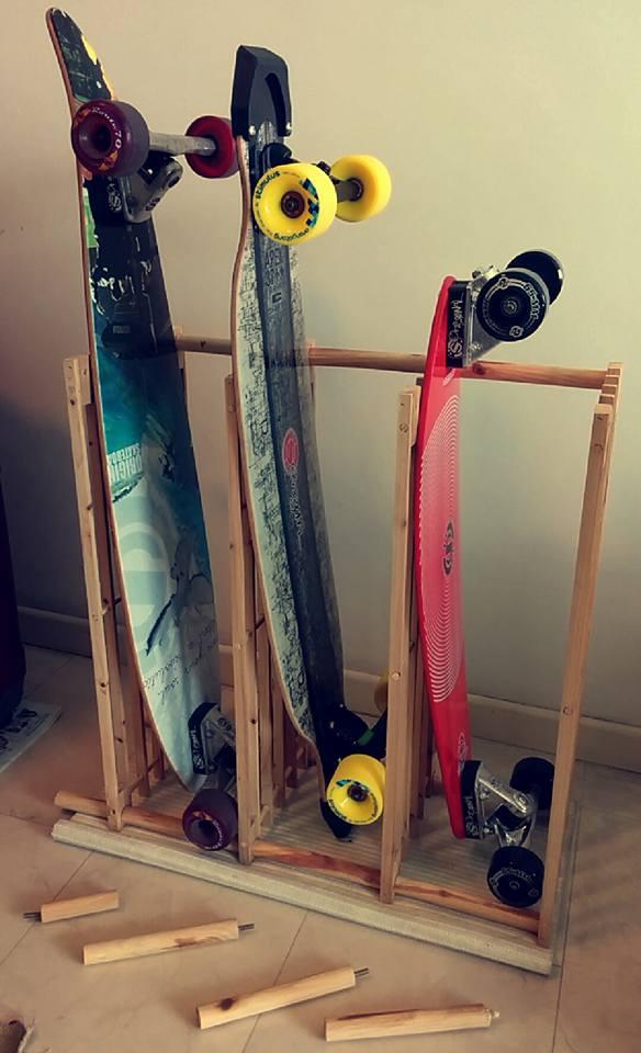 rack skateboard