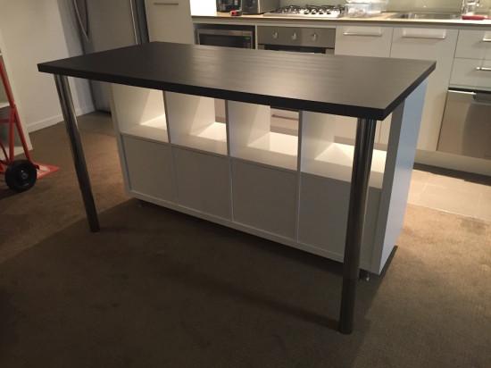 Ilot de cuisine style IKEA pas cher  Bidouilles IKEA