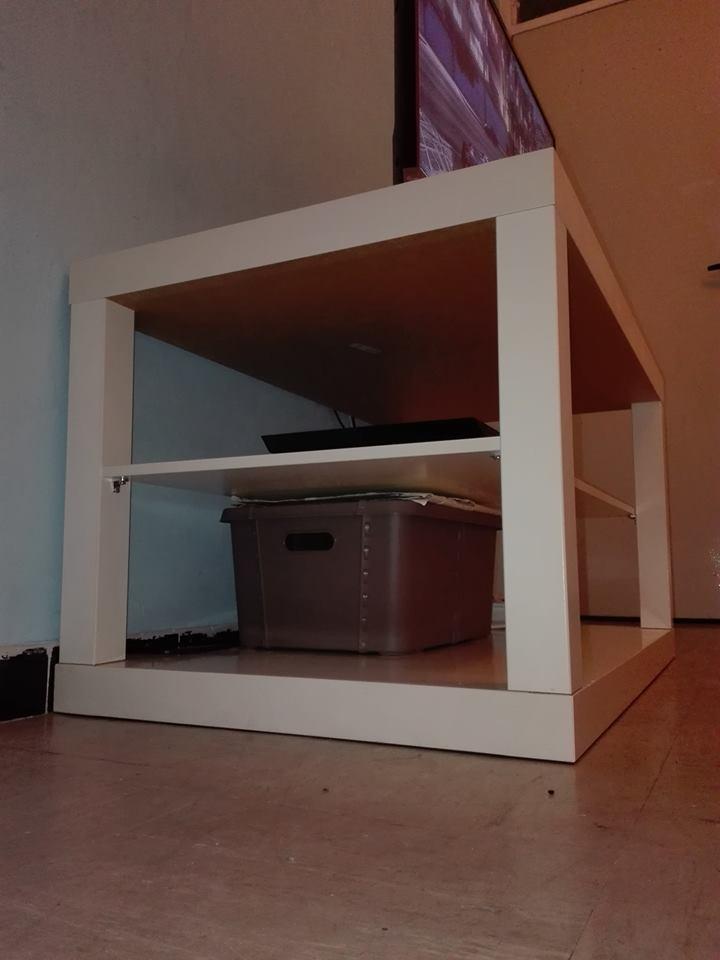 Fabriquer un meuble t l petit prix bidouilles ikea - Meuble hifi diy ...