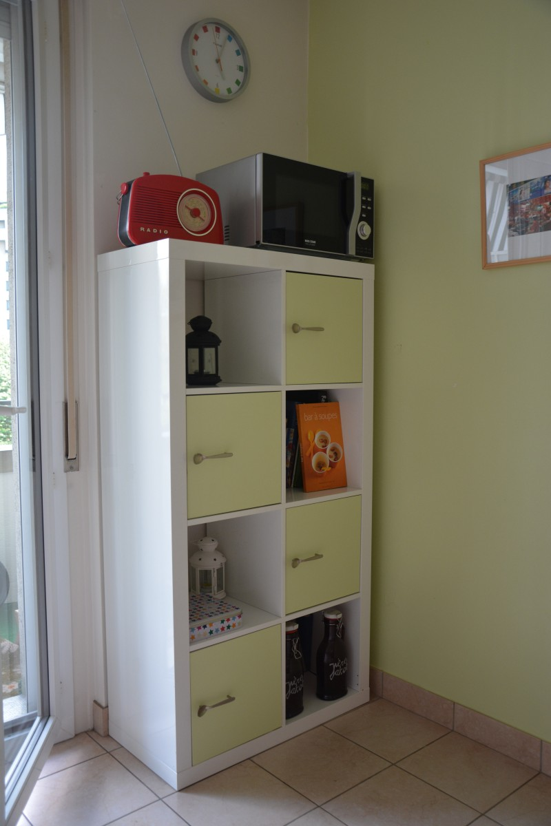 Etag re expedit customis e bidouilles ikea - Etagere cuisine a poser ...