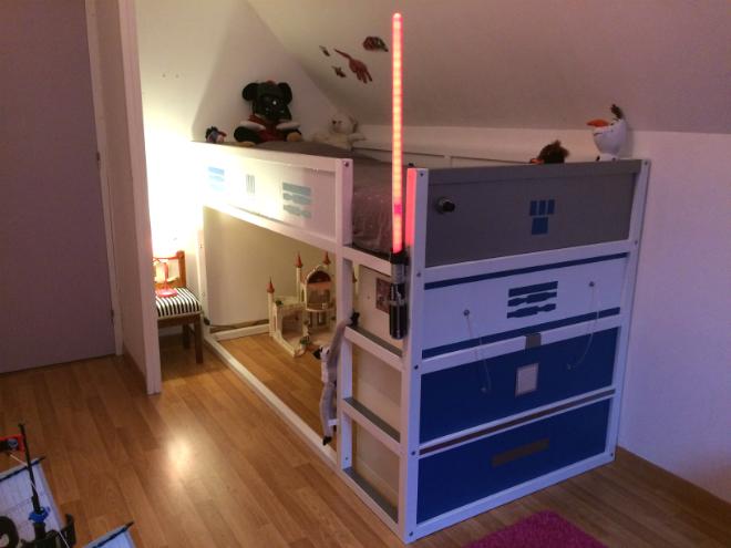 un meuble langer avec du rangement bidouilles ikea. Black Bedroom Furniture Sets. Home Design Ideas
