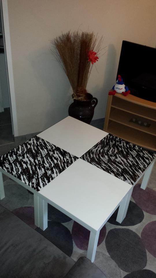 Table LACK customisée