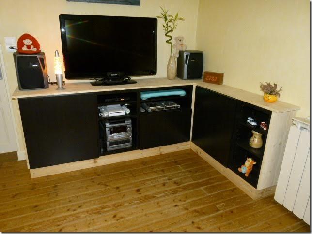 Meuble tv avec best bidouilles ikea - Vis assemblage meuble ikea ...