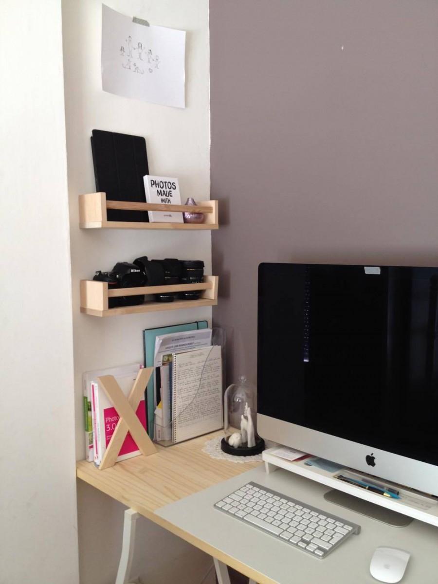 Meuble bureau ikea etagere angle salle de bain ikea - Bureau rouge ikea ...