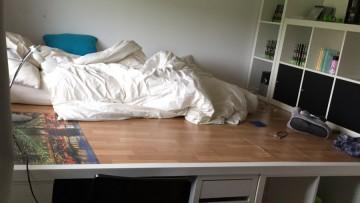 lit escamotable ikea diy avec une armoire pax bidouilles ikea. Black Bedroom Furniture Sets. Home Design Ideas