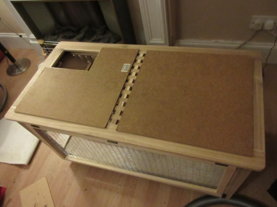 rabbit cage ikea hack 2