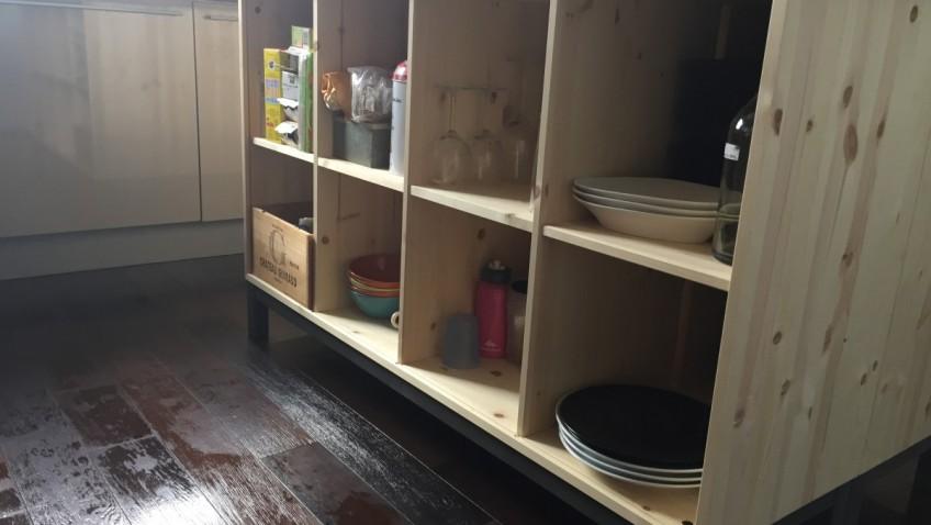Id es d co et diy cuisine bidouilles ikea - Fabriquer des etageres pas cher ...