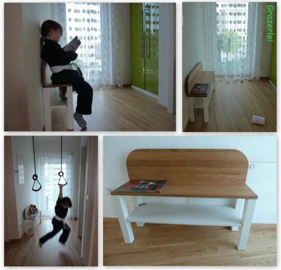 Un lit enfant biblioth que diy bidouilles ikea - Fabriquer bibliotheque enfant ...