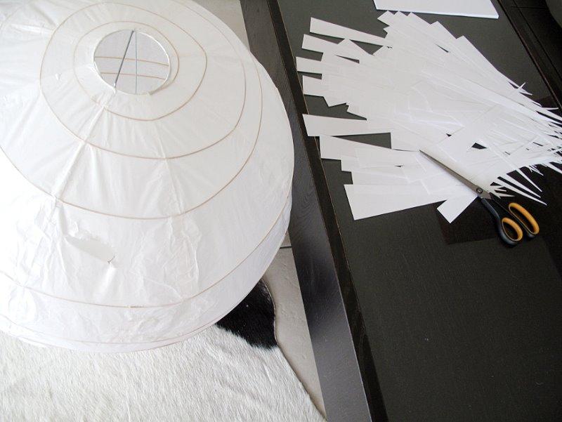 Une Lampe Papier Diy Design à Tout Petit Prix