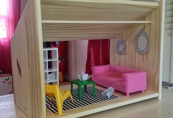 maison de poup e diy ikea. Black Bedroom Furniture Sets. Home Design Ideas