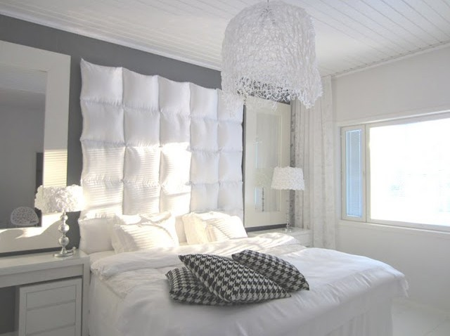 t te de lit design et bien rembourr e avec peu d 39 argent. Black Bedroom Furniture Sets. Home Design Ideas