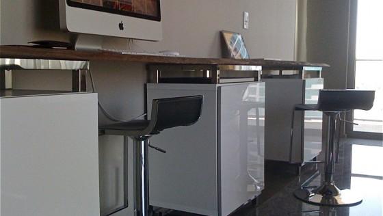 Bureau customisé avec BESTA d'Ikea