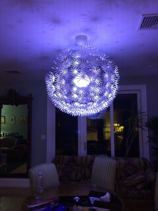 une lampe abat jour de corde diy. Black Bedroom Furniture Sets. Home Design Ideas