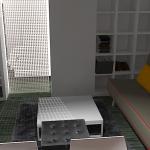 Cloison mobile avec expedit bidouilles ikea for Cloison demontable chambre