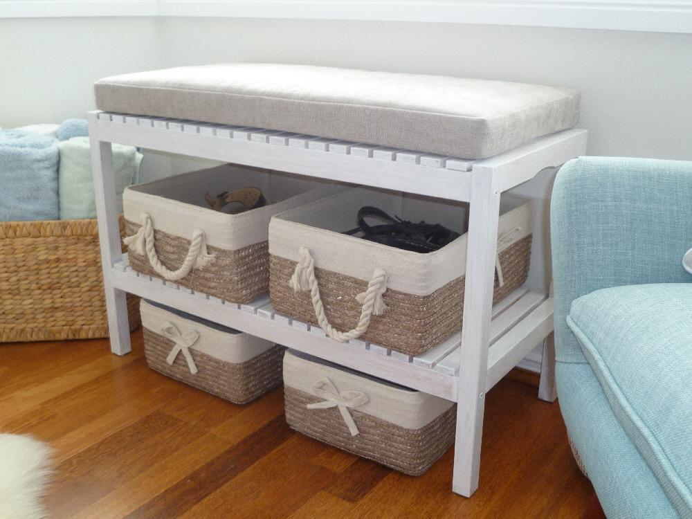 Un banc chaussure diy facile r aliser bidouilles ikea - Fabriquer un meuble a chaussures facile ...