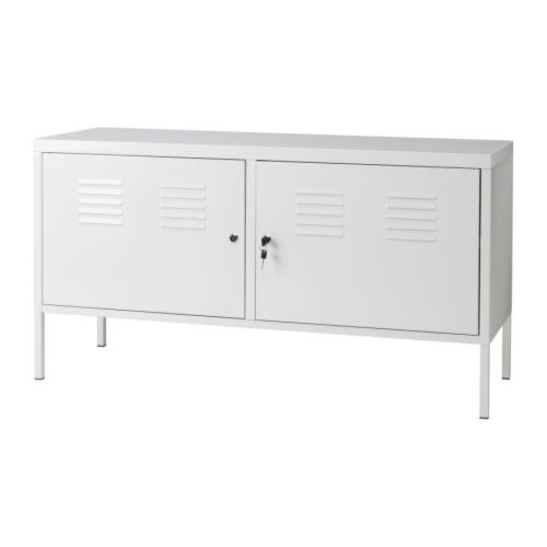 casier metal blanc ikea
