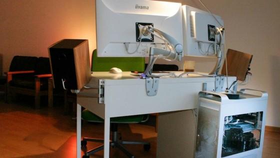Bureau Hackintosh Ikea