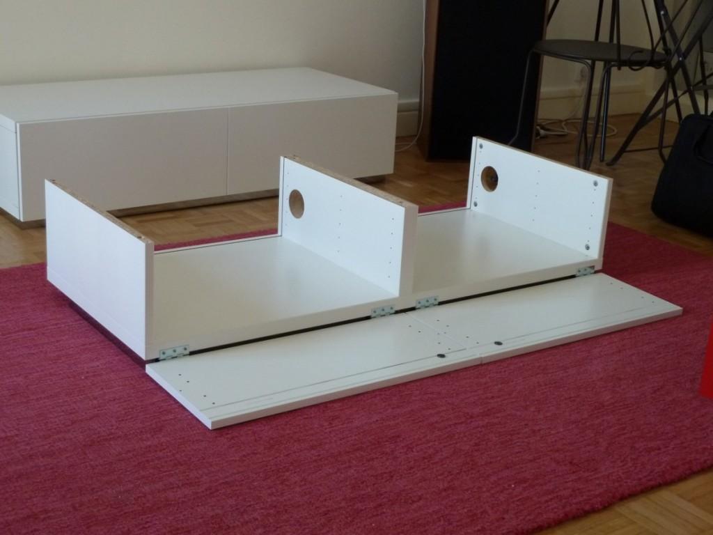 Meuble tv pur et design diy bidouilles ikea for Au pere du meuble