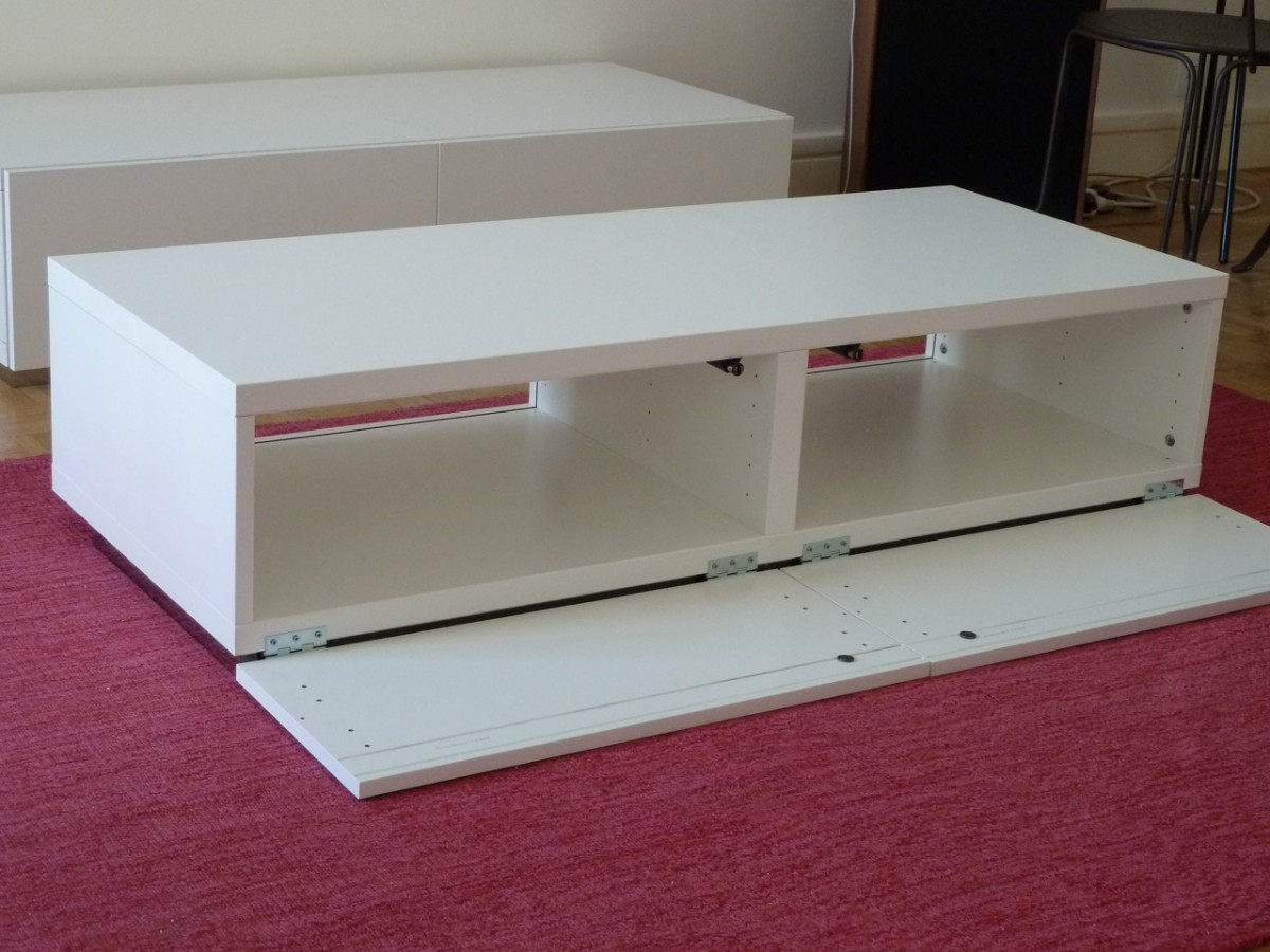 Meuble Tv Pur Et Design Diy Bidouilles Ikea # Meuble Tv Audio Video