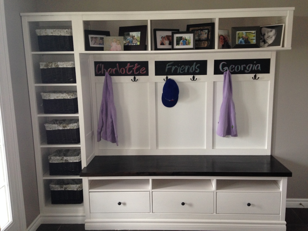 une entr e avec du style et hemnes d 39 ikea. Black Bedroom Furniture Sets. Home Design Ideas