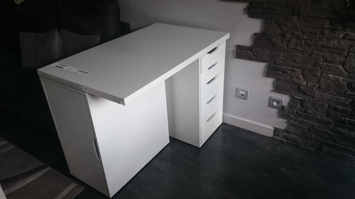 mini bureau ikea alex linmon. Black Bedroom Furniture Sets. Home Design Ideas