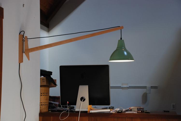 Une Lampe Foto Pivotante