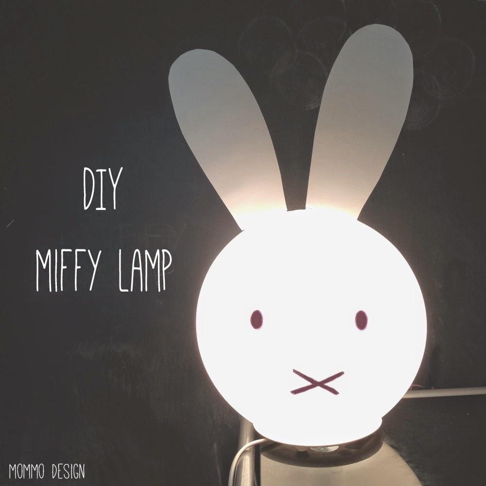 une lampe miffy avec une lampe fado. Black Bedroom Furniture Sets. Home Design Ideas