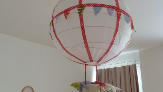 Une suspension montgolfière DIY