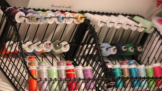 Rangement fils, bobines et canettes DIY