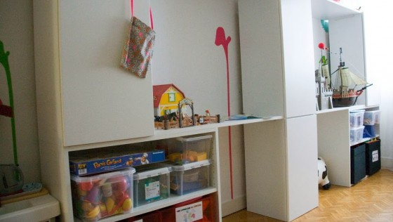 Espace de jeu pour chambre d'enfant DIY